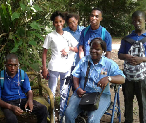 Abilities Foundation Students at Event