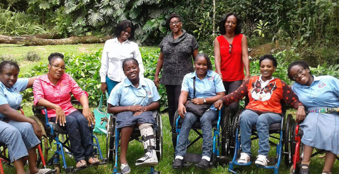 Abilities Foundation Students and Team